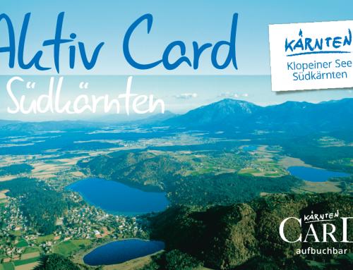 NEU: Die Aktiv Card Südkärnten kostenlos